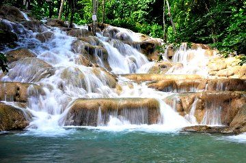 Montego Bay, Jamaica | Dunns River Falls and Columbus Park