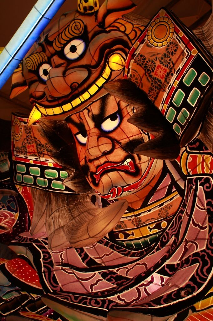 A float for the Nebuta matsuri festival, Japan