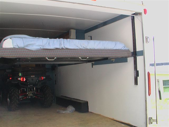 Toy Hauler Remodel Vertical Bed Lift Polaris Rzr Forum