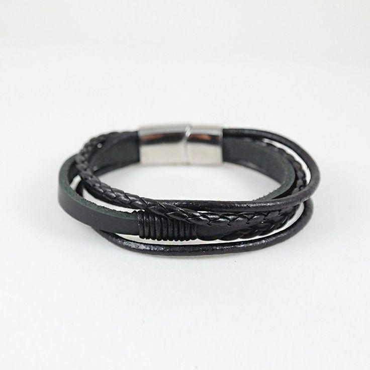 Arthur Cuff / black leather