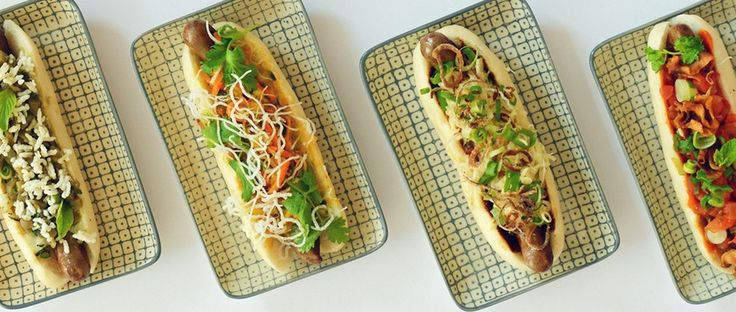 NuPort |  What:     A new Asian snack joint serving high-quality hot dogs. Why:     Pretty much everything — from the hot buns to the pickled watermelon — is made in-house. Where:     Rosenthalerstr. 71