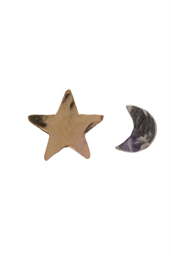 Kenda Kist Tiny Star and Moon Studs