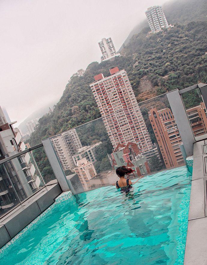 Indigo Hotel Hong Kong Rooftop Infinity Pool Blogpost What To Do In Hong Kong Www Hashtagbylily Com Hong Kong Hotels Hong Kong Resorts Hong Kong Beaches