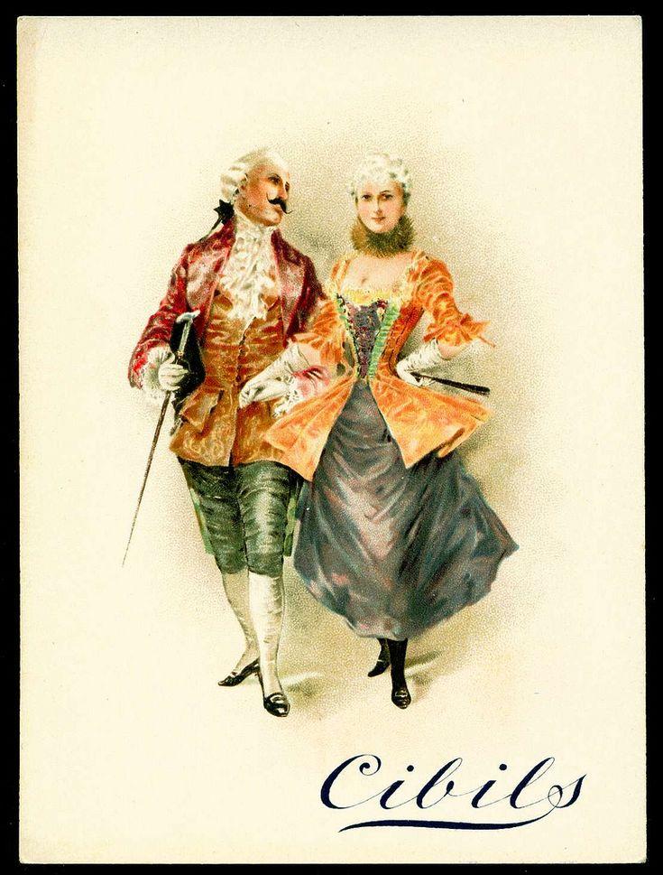 "Cibils Beef Extract (Belgium) ""Courting Couples"" c1899"