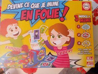 Ma tribu de jumeaux, : Devine ce que je mime, un jeu Educa +concours