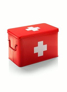 medicijnblik rood/wit kruis - €29.95 : Keck & Lisa