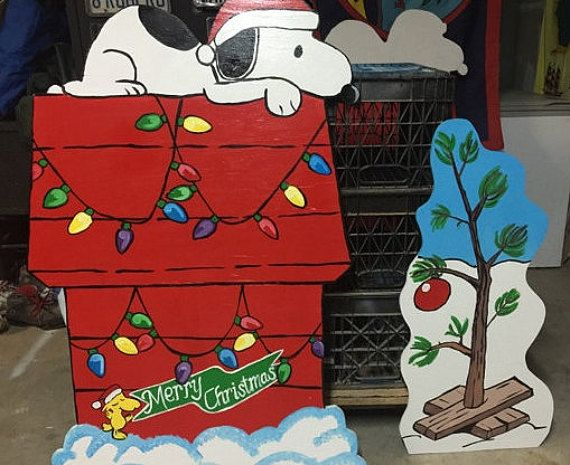 best 25 snoopy christmas decorations ideas on
