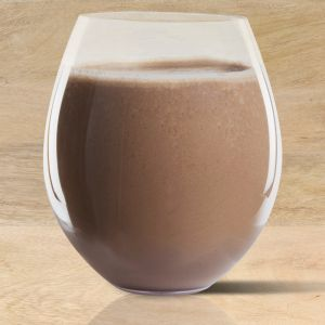 Chocolate Smoothie (1 Tbsp.  Cocoa, unsweetened  1 Tbsp. Creamy Peanut Butter  1 Banana, peeled  1 cup Vanilla Soy Milk  ½ cup ice)