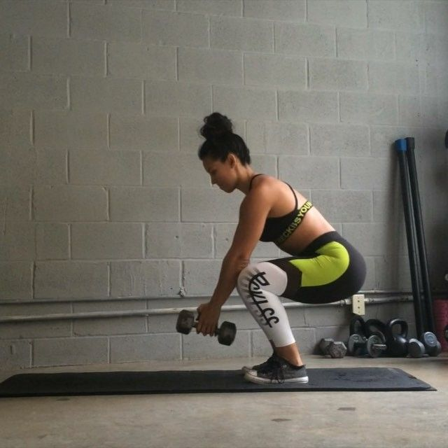 Outer things burnings workout from Carmen Morgan trainer