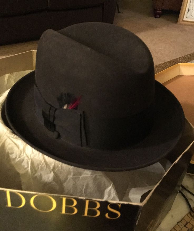 This wonderful Dobbs Hat reminds me of my Dad...
