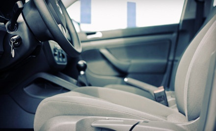 Automotive Carpet & Upholstery Extraction – Redeem from Home  $39 for Full Carpet and Upholstery Cleaning for One Vehicle ($100 Value)