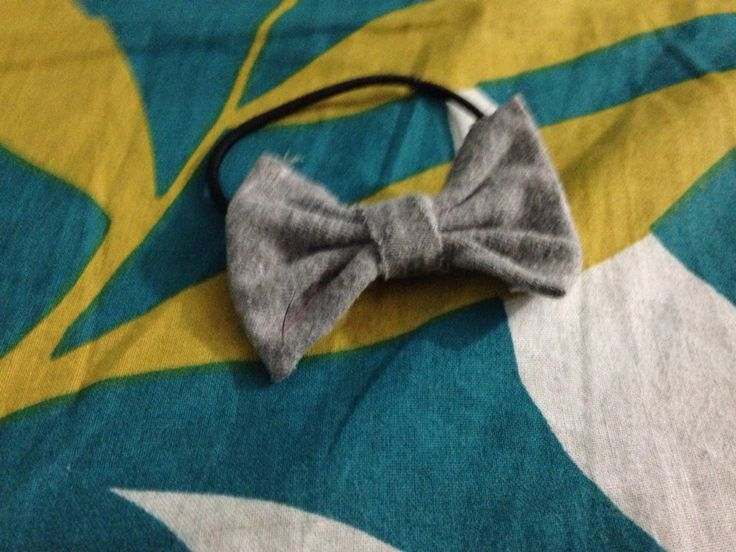 Bow rubber band diy