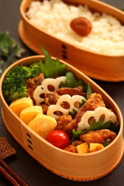 鶏から弁当 : Linmal's Kitchen ~金沢の旬の味と毎日のお弁当 #obento