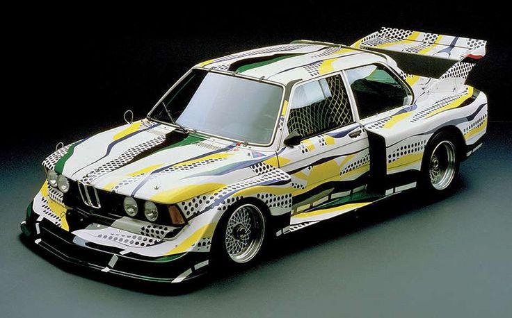 BMW 320 Group 5 1977 par Roy Lichtenstein 4 cylindres en ligne 2.0 de 300 ch (257 km/h)