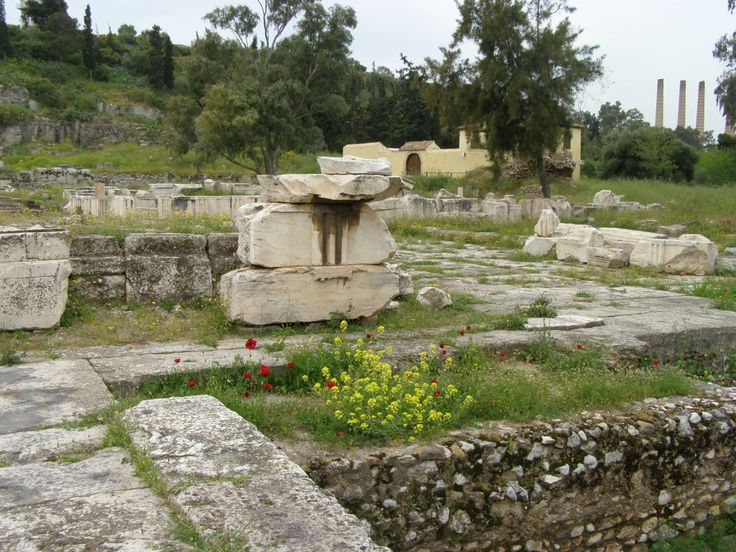 Achaeological site of Eleusis.