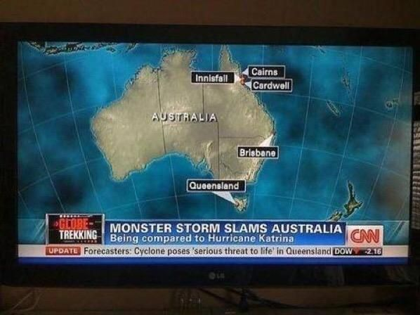 CNN Live News Fail - Don't Believe Everything You See! | The Travel Tart Blog