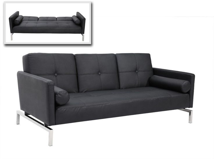 #lafurniturestore.com #sofa #3038 #Modern #Black #Sofa 3038 -