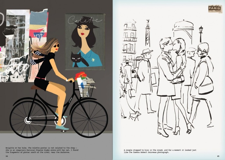 Illustration Fashion Paris