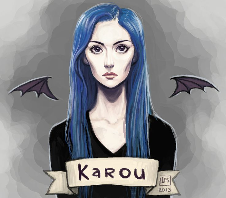 Fan Art Karou by BlackBirdInk.deviantart.com on @DeviantArt