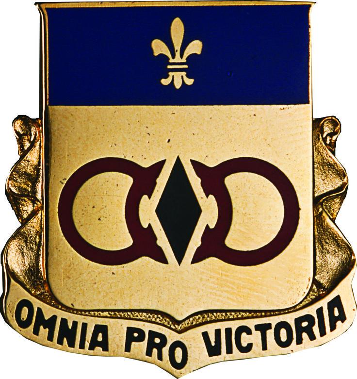 727 Maintenance Bn Unit Crest (Omnia Pro Victoria)