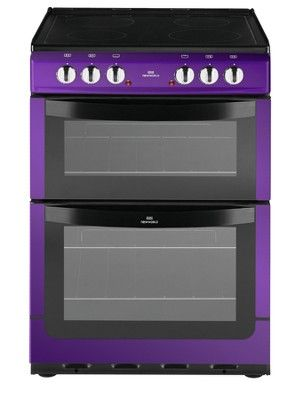 NW601EDO 60cm Double Oven Electric Cooker - Purple, http://www.littlewoods.com/new-world-nw601edo-60cm-double-oven-electric-cooker-purple/1121038754.prd