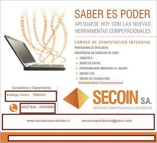 Secoin, Servcios Computacionales Integrados: Cursos de Computación Personalizada
