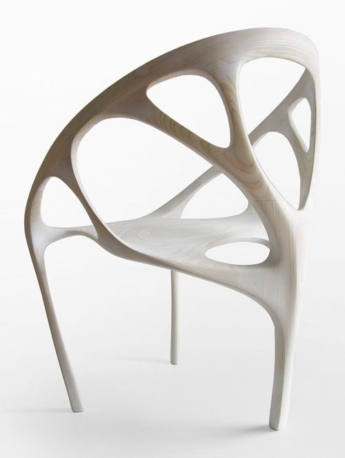 Daniel Widrig CNC'ed Chair Via