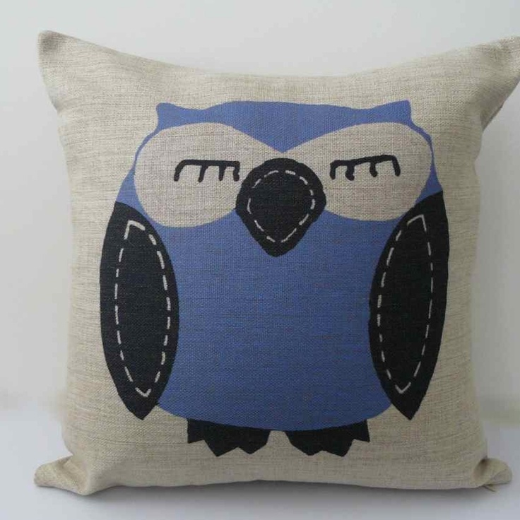 Owlton john cushion cover