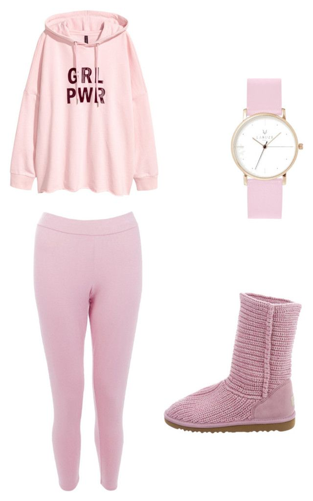 """""""pastel princess"""" by kawaii-dragon on Polyvore featuring Boohoo, UGG and Laruze"""
