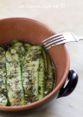 Zucchine grigliate - In Cucina con Me