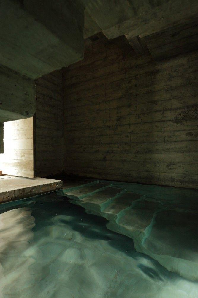 Estudio Botteri-Connell, beton, zwembad, argentienie - Zwembad omring door een huis - Wonen voor Mannen