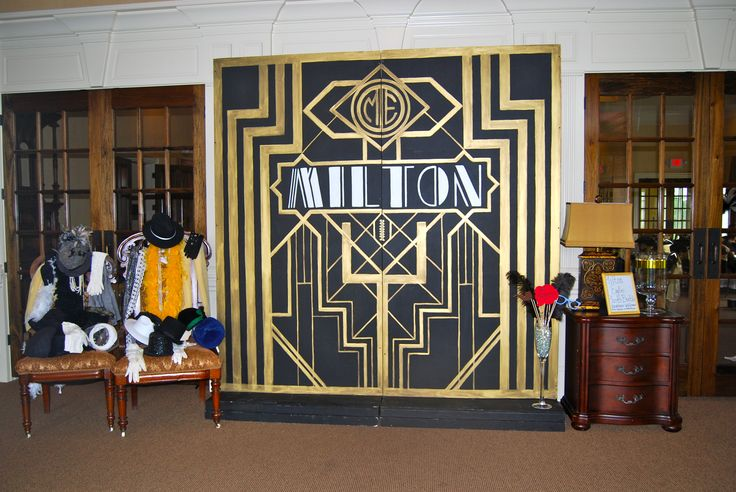 Gatsby Themed Photo Booth By The Party Girl Events
