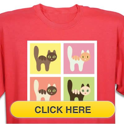 Check our Colorful Kitties T-Shirt to celebrate you #pet #animal#cat love. Just $18.99 + an extra $5off Just Enter Coupon Code: SAVEMORE5 at checkout at http://www.petproductadvisor.com/store/mc/colorful-kitties-tshirt.aspx
