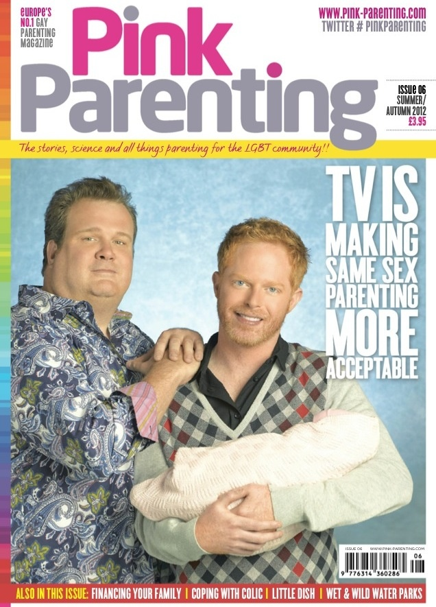 Issue 6 Modern Family, The New Normal, Will & Grace, Eastenders & Friends / TV Is Making Same Sex Parenting More Acceptable  :)