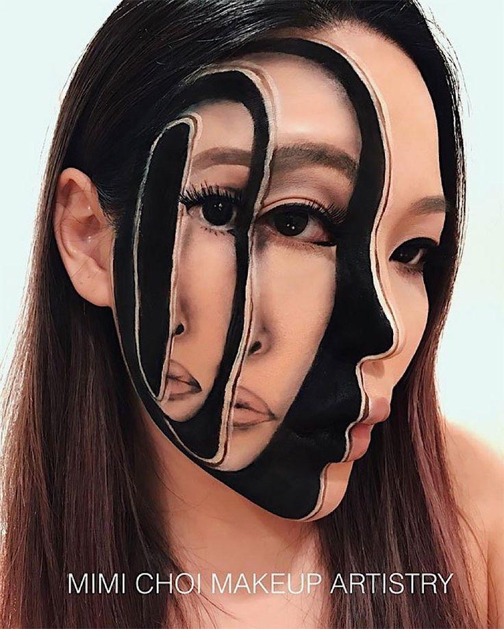Die äußerst kreativen Make-ups von Mimi Choi  Die Kanadierin Mimi Choi ist eine wahre Make-up-Meisterin. Mit Hilfe von Farbe verleiht sie ihrem Gesicht regelmäßig einen bizarren Look und arbei...