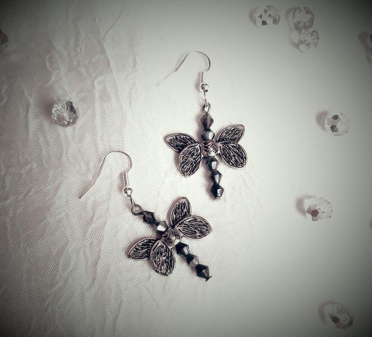 Orecchini a libellula, by Katia Kreazioni, 5,00 € su misshobby.com