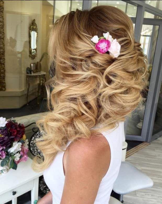 55 best 50 plus belles coiffures de mariages images on pinterest bridal hairstyles chignons - Les plus belle coiffure de mariage ...