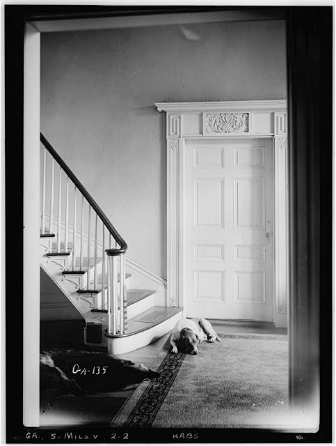 2 Historic American Buildings Survey LD Andrew Photographer June 6 1936 HALL
