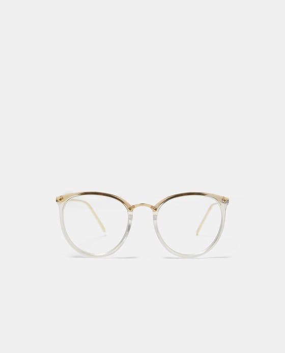d5961dd875 Image 1 of CONTRASTING GLASSES from Zara