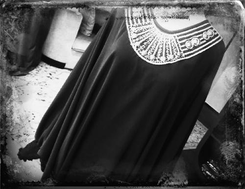 Black Abaya.