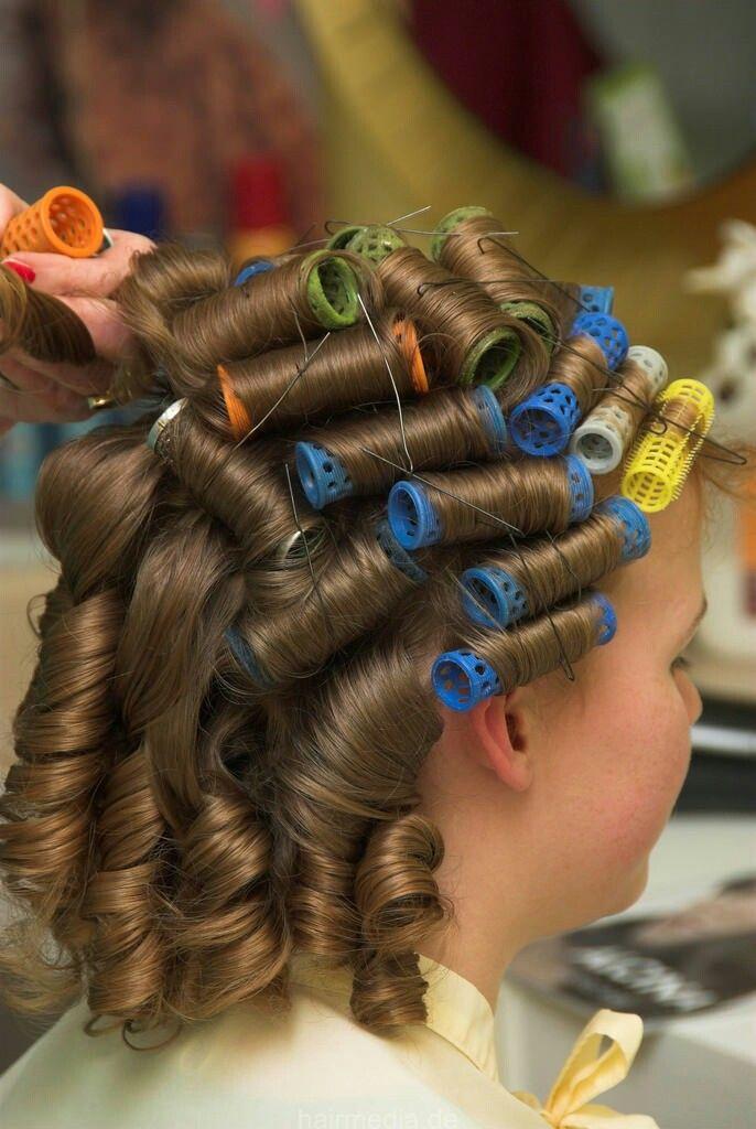 504 Best Roller Set Images On Pinterest Roller Set Hair