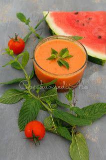 CosebuonediAle: zuppe fredde per l'estate: anguria, pomodoro e cip...