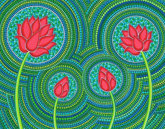 Familia Lotus de 4 porción Elspeth McLean                                                                                                                                                                                 Más