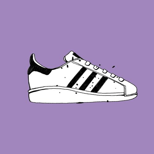 James Neilson animation loop 2d adidas