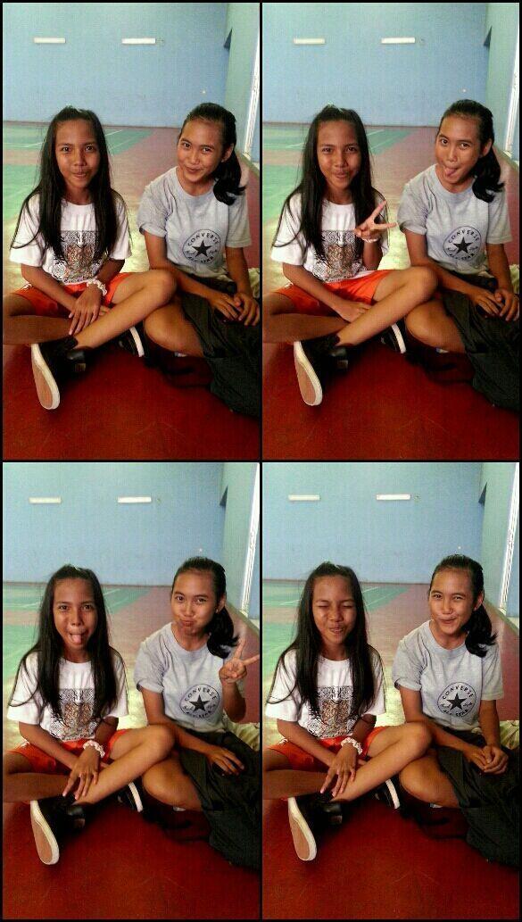 With Wahyu dinda