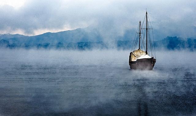 Barco en el Lago Llanquihue - 2- Puerto Varas