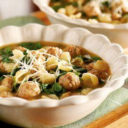 Italian Sausage Soup...use turkey sausage...