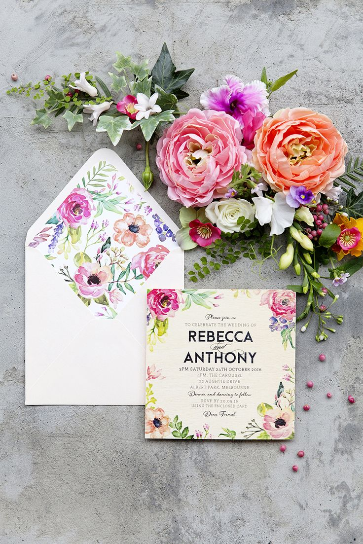 Best 25+ Floral invitation ideas on Pinterest | Floral wedding ...