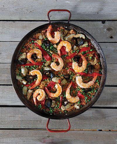 Paella Mixta (Mixed Paella) | SAVEUR