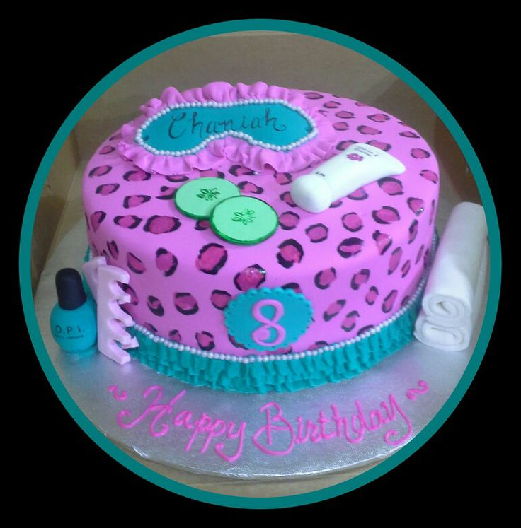 Best 25 Spa party cakes ideas on Pinterest Spa party Girl spa
